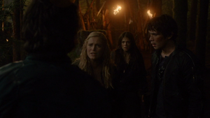 Unity Day 096 (Clarke, Octavia, and Bellamy)