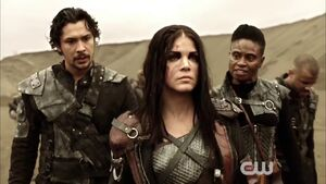 The Dark Year - Octavia, Indra and Bellamy