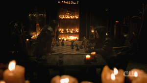 611 Sheidheda doing chess with Madi
