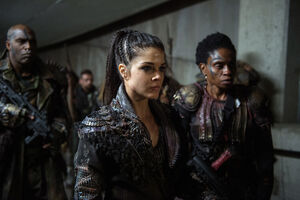 The 100 4x12 The Chosen - Octavia & Indra pic 1
