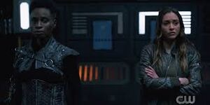 The 100 6x09 - Indra and Raven