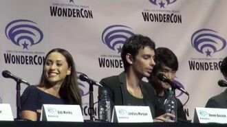 WonderCon 2016 The 100 Panel - Cast