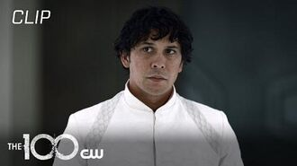 The 100 Season 7 Episode 12 Bellamy Discovers What Will Happen To His Friends Scene The CW