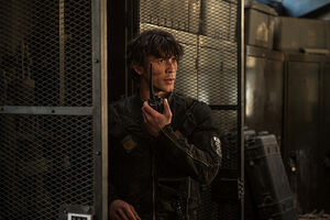 S3 episode 12 (Demons) - Bellamy