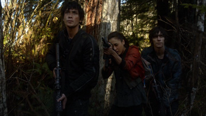 Unity Day 076 (Jasper, Raven, and Bellamy)