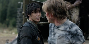 The-100-season-4-episode-2-Riley & Bellamy