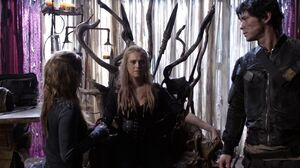 The100 S3 Perverse Instantiation 2 Clarke Abby Bellamy
