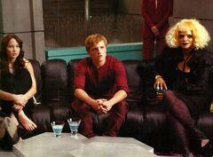 Katniss, Peeta y Portia