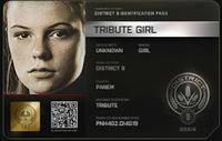 Identificación de Tributo femenino del Distrito 9 (74º JH)