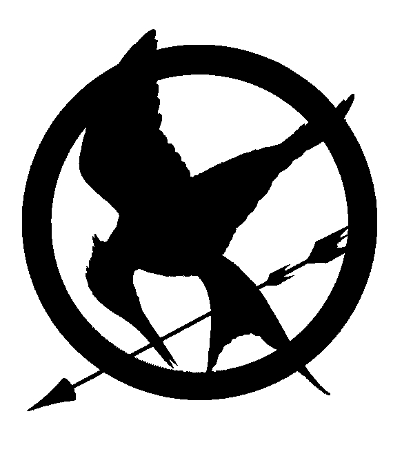image mockingjay outline jpg the hunger games wiki fandom rh thehungergames wikia com hunger games clip art free hunger games logo clip art