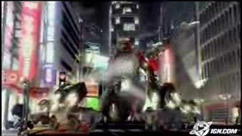 Godzilla save the earth intro