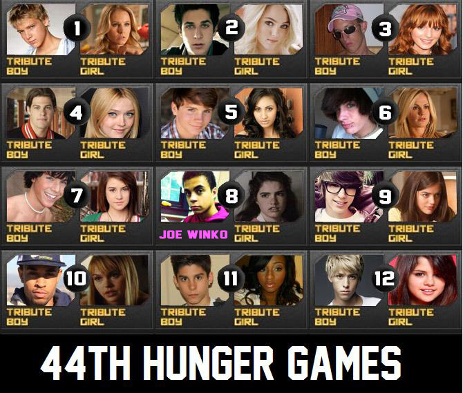 hunger games 2 tributes