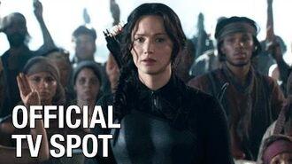 "The Hunger Games Mockingjay Part 1 (Jennifer Lawrence) Official TV Spot – ""Critics Rave"""
