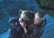 Пит и Катон на крыше Рога изобилия