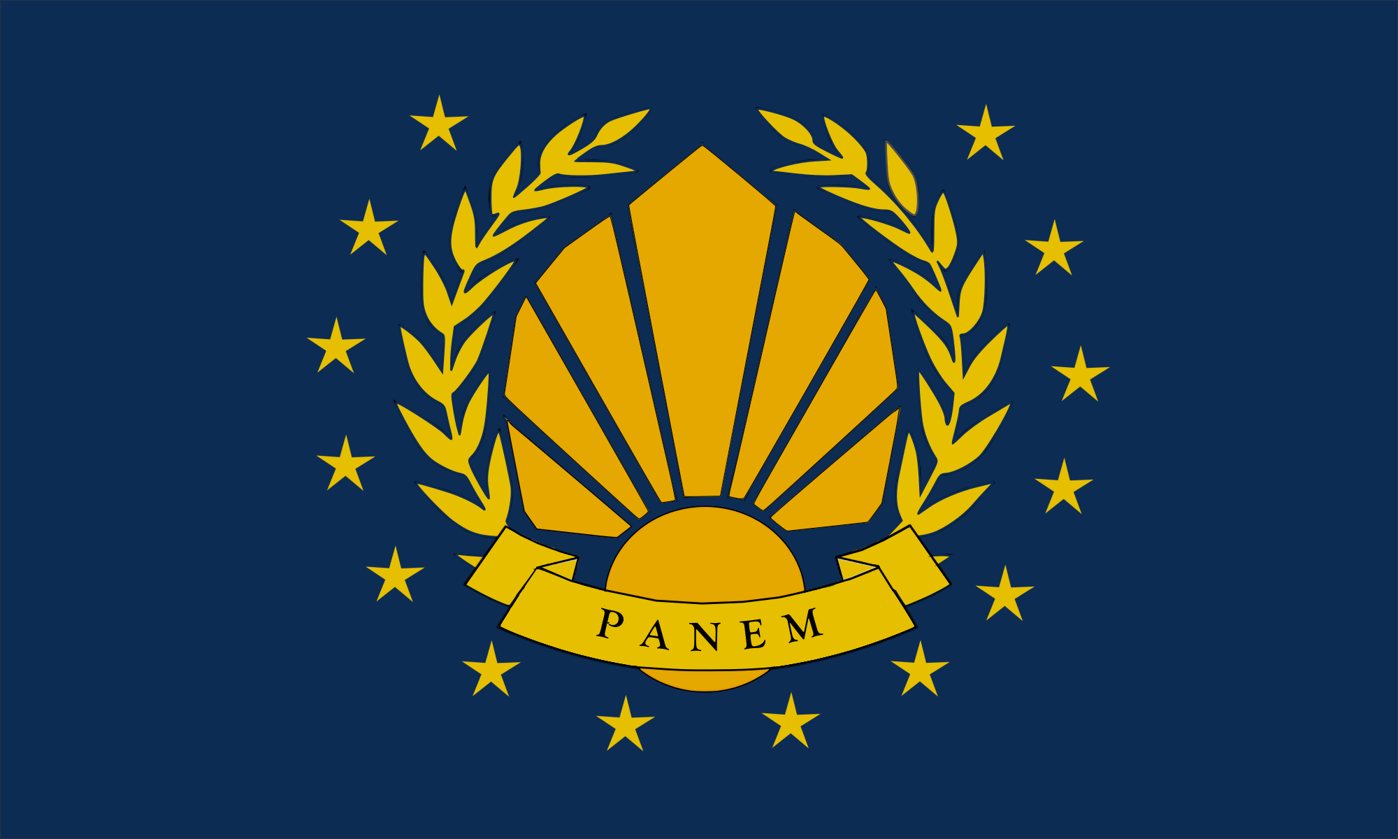 Image Panem Republic Flagg The Hunger Games Wiki Fandom