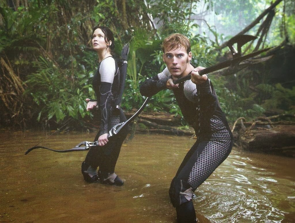image - finnickandkatnissarenacf | the hunger games wiki