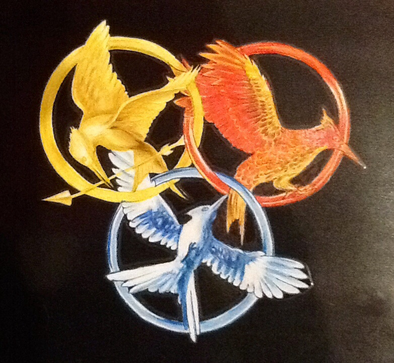 Image Hunger Games Symbols By Amezia D6wkanng The Hunger