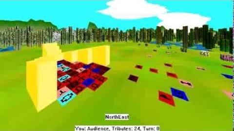 Hunger Games Simulation (Daedalus 2.5) AI Demo