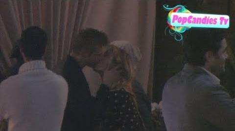 Exclusive! Leven Rambin & Alexander Ludwig of Hunger Games Hot Sexy Kiss @ Roosevelt in Hollywood!