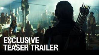 The Hunger Games Mockingjay Part 1 (Jennifer Lawrence) - Teaser Trailer