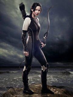 Promo de Katniss en la arena del Vasallaje
