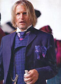 Haymitch luego del desfile