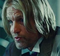 Haymitch en el tren