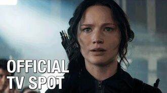 """The Hunger Games Mockingjay Part 1 (Jennifer Lawrence) Official TV Spot – """"Most Anticipated Event"""""""
