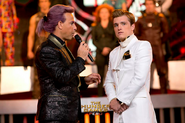 Caesar-peeta-catching-fire interview