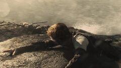 Peeta ve el cadáver de Cashmere