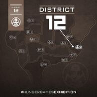 Hunger Games Exhibition Map
