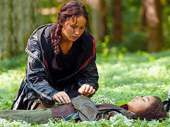 Flowers The Hunger Games Wiki Fandom