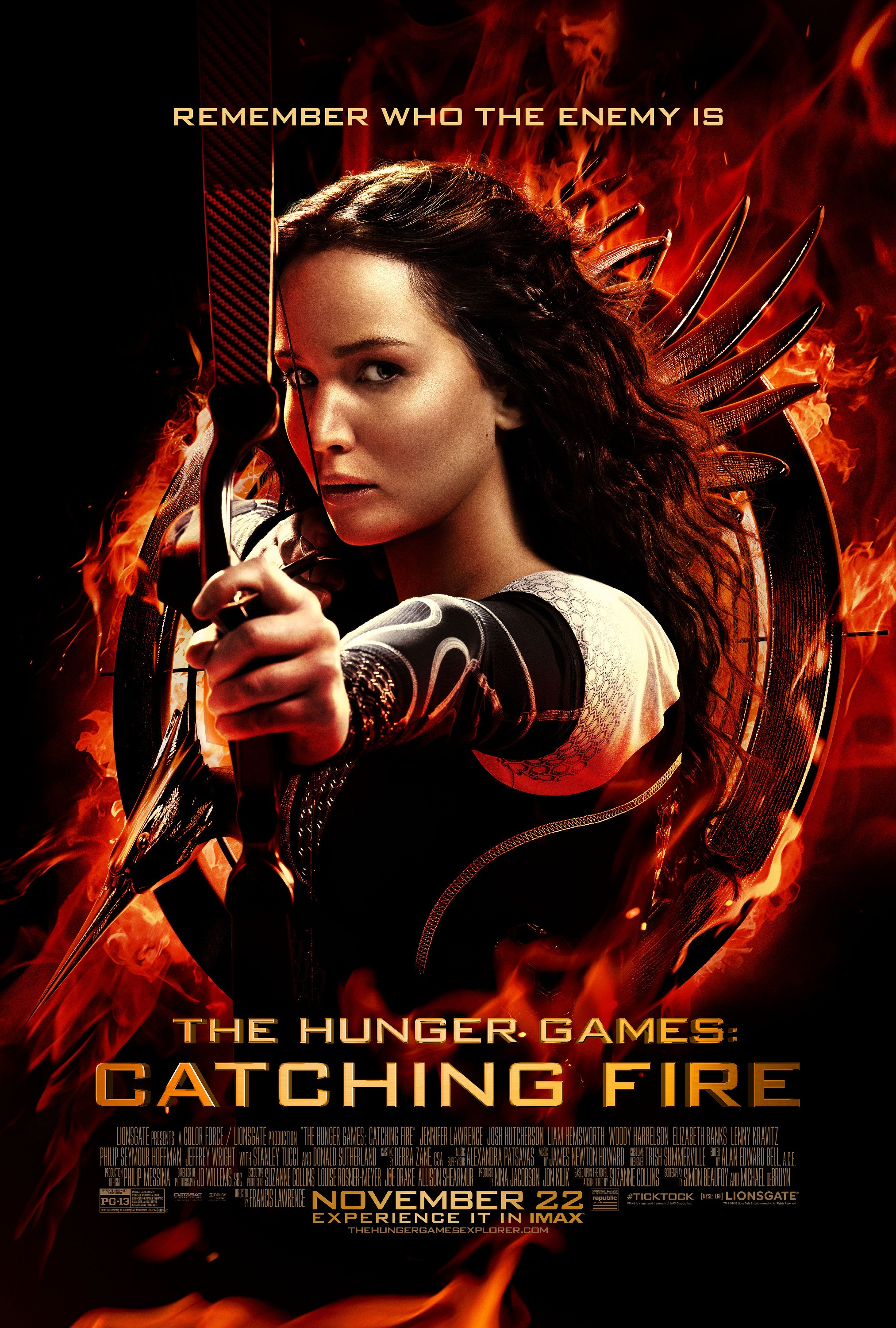 The Hunger Games Catching Fire Book To Film Differences