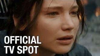 """The Hunger Games Mockingjay Part 1 (Jennifer Lawrence) Official TV Spot – """"The Choice"""""""