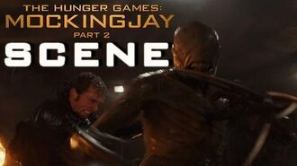 Mockingjay Part 2 - Sewer Scene and Death of Finnick in Full HD