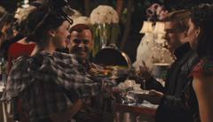 Flavius y Octavia en la mansión de Snow