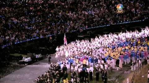 London 2012 Gymnastics x The Hunger Games