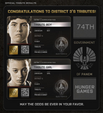 District 3 Tributes