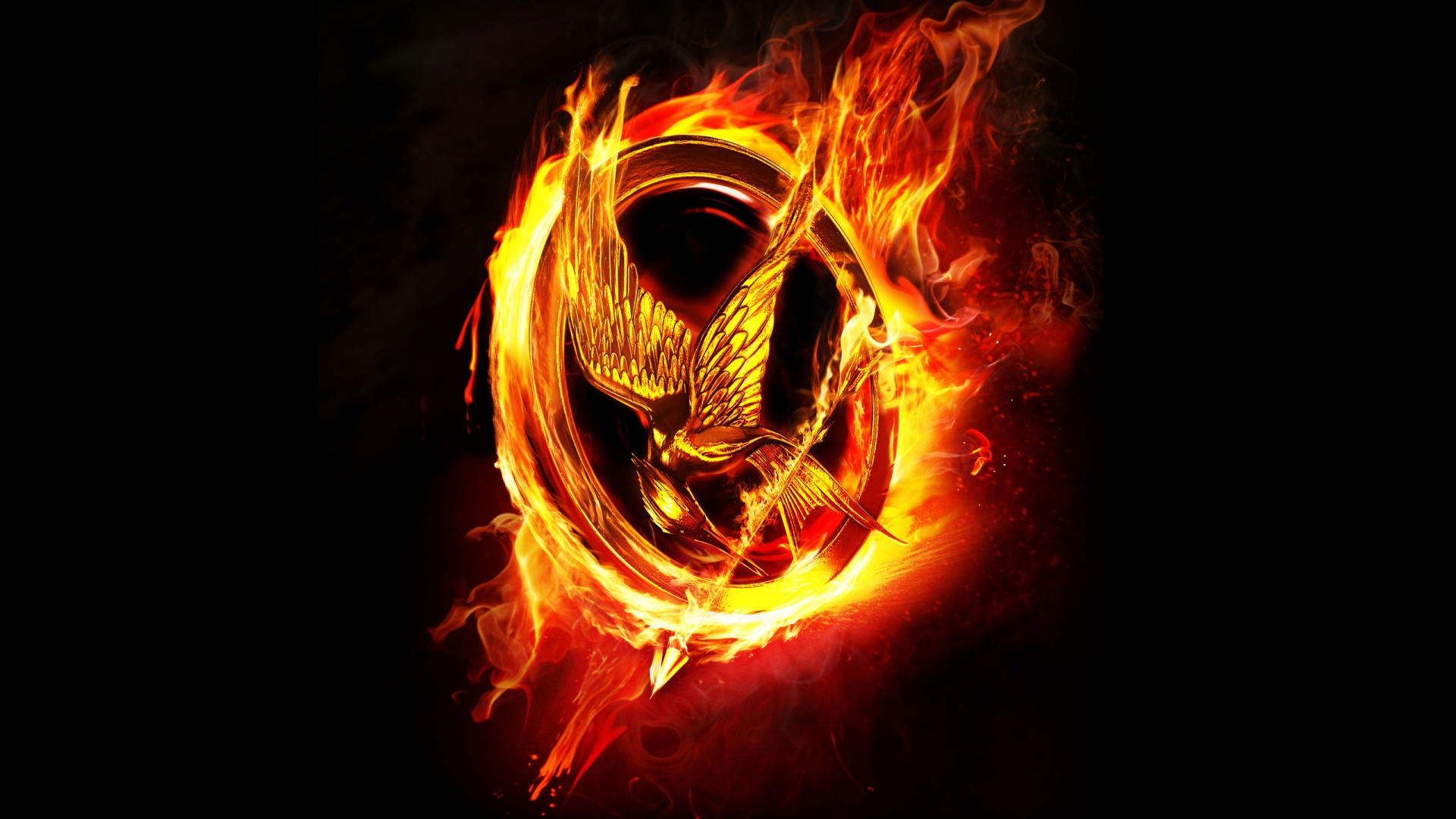 Image The Hunger Games Logo Hd Mobile 751968g The Hunger