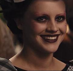 Octavia durante la fiesta de Snow