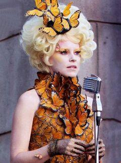 Effie en la cosecha 75° Juegos del Hambre
