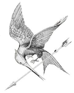 Mockingjay sketch by TOB