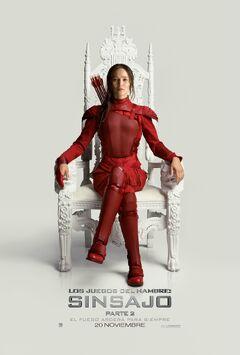 Póster de Katniss de Sinsajo, Parte 2