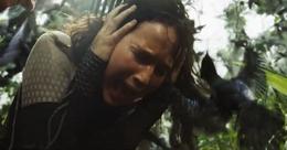 Charlajos atacando a Katniss