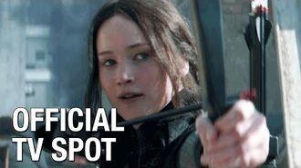 "The Hunger Games Mockingjay Part 1 (Jennifer Lawrence) Official TV Spot – ""Courage"""