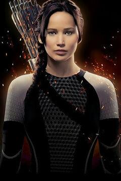 Katniss Poster latinoamericano de En Llamas