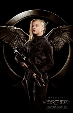 Póster de Cressida en uniforme del Escuadrón 451
