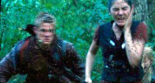 Катон с Миртой спасаются от ос-убийц