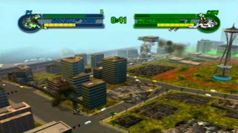 Godzilla Save the Earth - Godzilla 2000 vs Mechagodzilla 2