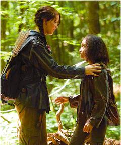 Katniss y Rue